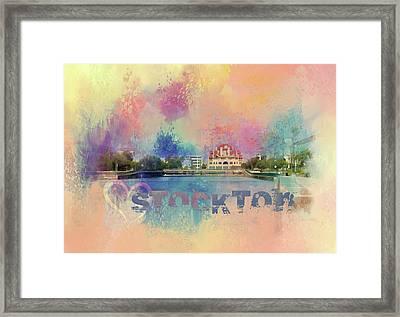 Love Stockton Framed Print