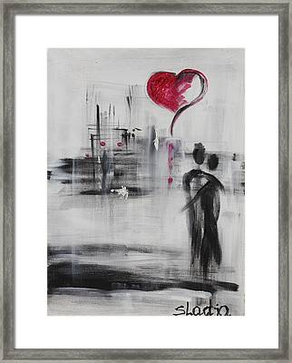 Love Story 3 Framed Print
