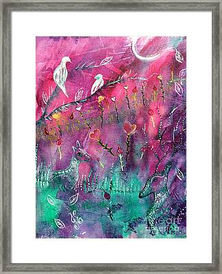 Love Story Framed Print by Julie Engelhardt