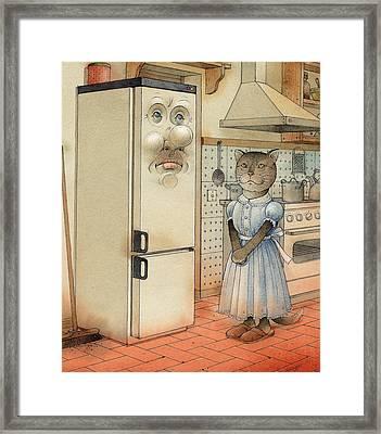 Love Story Framed Print by Kestutis Kasparavicius