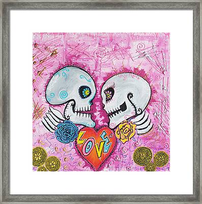 Love Story Framed Print by Laura Barbosa