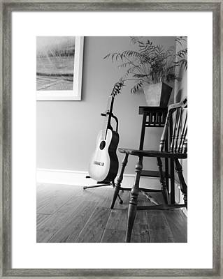 Love Strings Framed Print