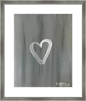 Love  Framed Print by Sydney Marlow