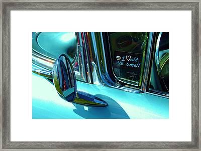 Love That Old Car Smell Framed Print
