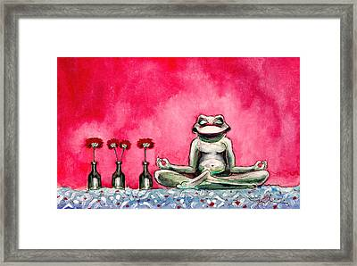 Love The Life You Live Framed Print by Miki De Goodaboom
