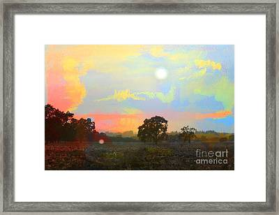 Love The Magic Hours Framed Print