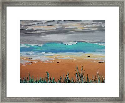 Love The Pacific Framed Print