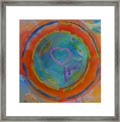 Framed Print featuring the painting Love The Sea by Charles Stuart