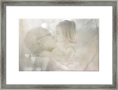 Love Framed Print by Theresa Campbell
