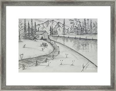 Love Valley  Framed Print by Collin A Clarke