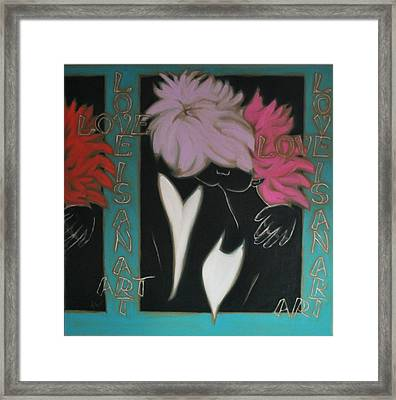 Love Framed Print by Varvara Stylidou