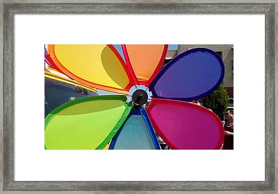 Love Wins Framed Print by Claudia Goodell