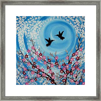 Love You More Framed Print by Cathy Jacobs