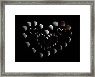 Love You To The Moon And Back Framed Print by Betsy Knapp