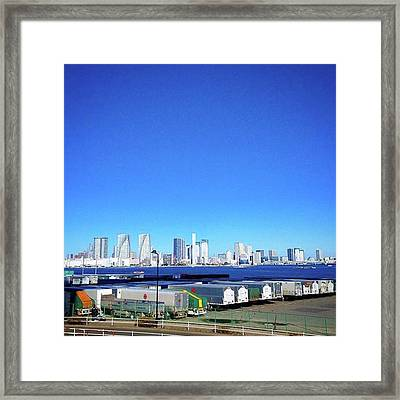 #loveallsky #青空 Framed Print by Bow Sanpo