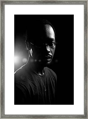 Framed Print featuring the photograph Loved. by Eric Christopher Jackson