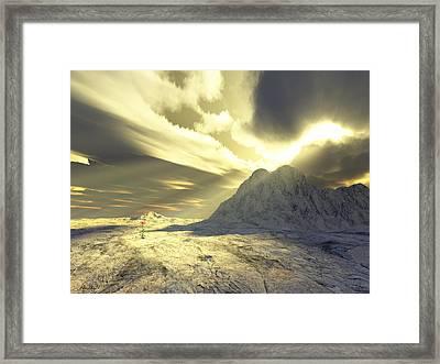 Loved - Never Forgotten Framed Print