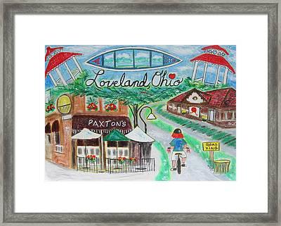 Loveland Ohio Framed Print