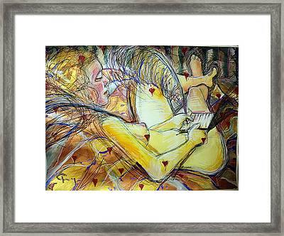 Lovelether Framed Print by Terry Brown