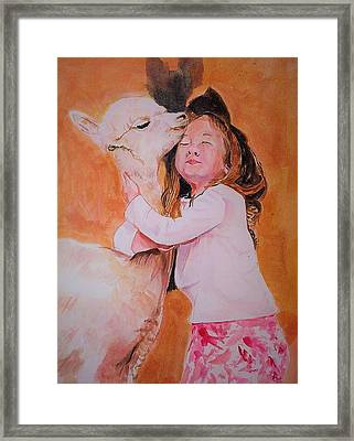 Sensitivity. Framed Print