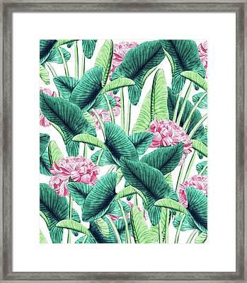 Lovely Botanical Framed Print