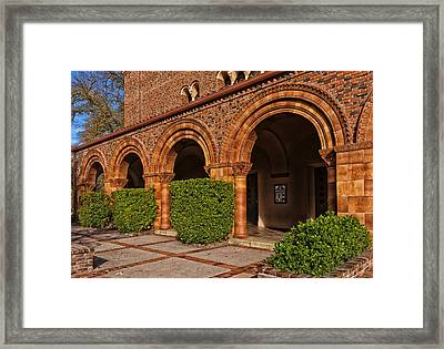 Lovely Campus Building - Cal State University At Chico Framed Print
