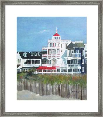 Lovely Cape May Framed Print