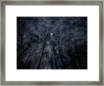 Lovely Dark And Deep Framed Print by Robert Geary
