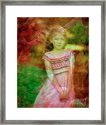 Lovely Demure Framed Print