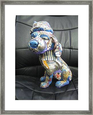 Lovely Dog Framed Print