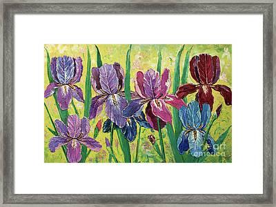Lovely Garden Framed Print