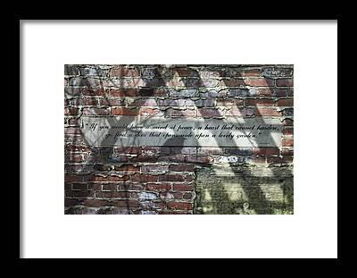 Mortar Framed Prints