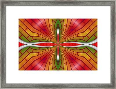 Lovely Geometric  Framed Print