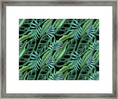 Lovely Green  Framed Print