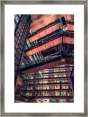 Lovely In London Framed Print