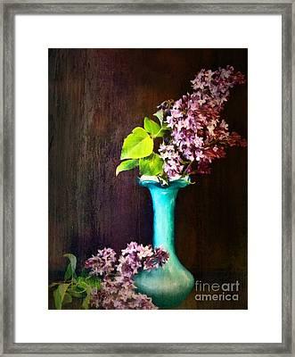 Lovely Lilacs Framed Print