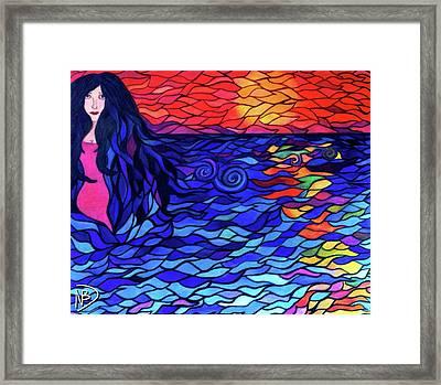 Lovely Lydia Framed Print