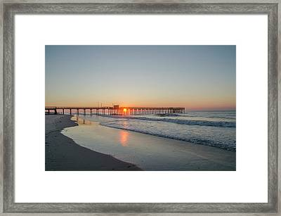 Lovely Morning In Avalon Framed Print by Bill Cannon