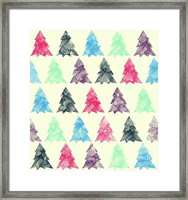 Lovely Pattern II Framed Print by Amir Faysal