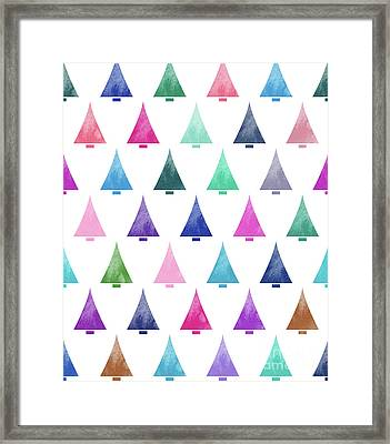 Lovely Pattern IIi Framed Print by Amir Faysal