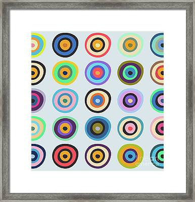 Lovely Pattern V Framed Print