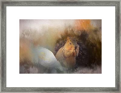 Lovely Sibyl Framed Print