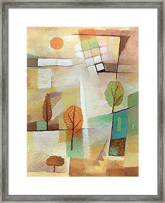 Lovely Site Framed Print by Lutz Baar