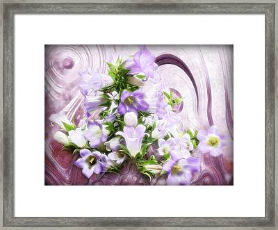 Lovely Spring Flowers Framed Print
