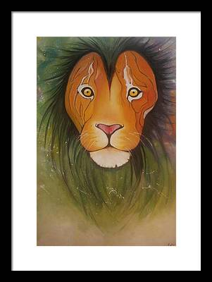 Animal Paintings Framed Prints