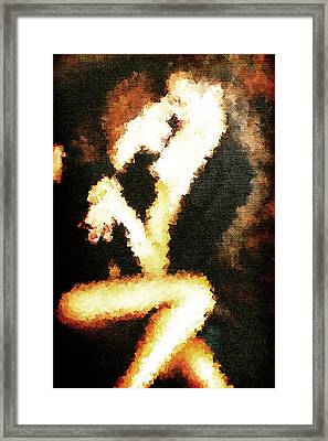 Lovers Framed Print by Andrea Barbieri