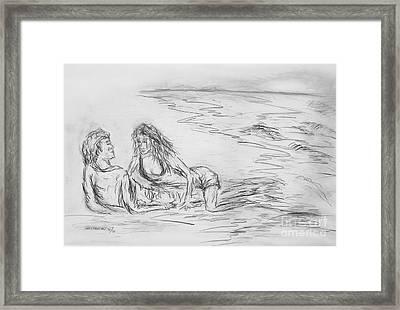 lovers I Framed Print