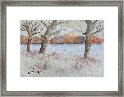 Lovers' Lake Framed Print