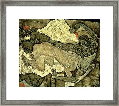 Lovers  Man And Woman I Framed Print