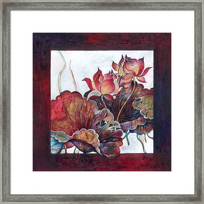 Lovers Without Memory Framed Print